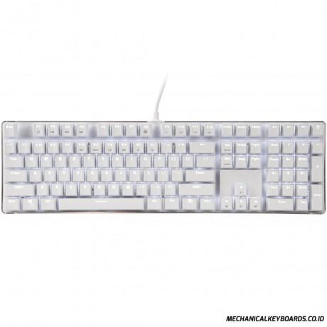 Magicforce Crystal 108 Cherry Mx White White Led